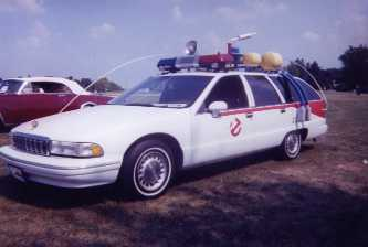 Ghost Busters new wheels....