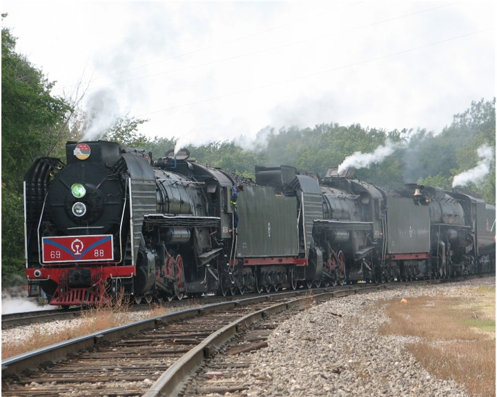3 Steam Locomotives